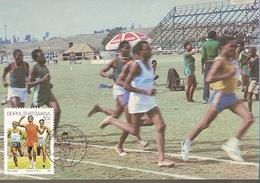 Bophuthatswana & Maxi Card, Athletics, Sport, Ga-Rankuwa 1987 (184) - Bophuthatswana