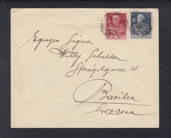 Italien Italia Brief 1925 MiF - 1900-44 Victor Emmanuel III.