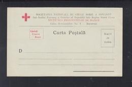 Romania Red Cross Stationery Unused - Interi Postali