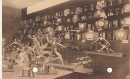 Rance :Léon Draguet ;rue Commerce;garniture Cheminée,horloge,vase,encrier ,Marbrerie De La Fourchette+Séraphin,Paris - Sivry-Rance