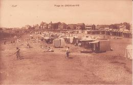 CPA -  Plage De CROIX DE VIE - Saint Gilles Croix De Vie