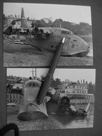 FOTOGRAFIE  SHORT SOLENT S 45  SANTA MARGHERITA LIGURE 1956 - Aviation