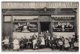 Lille A La Grande Pinte Brasserie Du Boulevard Bierre Extra Fine De Coninck - Lille