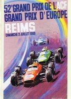 Grand Prix De L'Europe à Reims 1966     -  Publicité  -  CPR - Grand Prix / F1