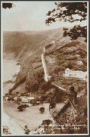 Countisbury Hill, Lynmouth, Devon, C.1930s - Sweetman RP Postcard - Lynmouth & Lynton