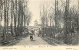 60 - BULLES - La Route Du Moulin En 1906 - Beau Cachet Ambulant De Clermont à Beauvais - France