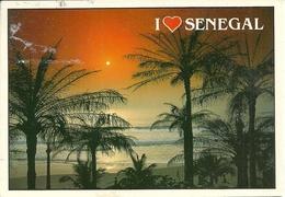 "Senegal, Spiaggia, The Beach, La Plage, Der Strand, Thematic Stamp ""Embleme Du Tourisme Senegalais 1987"" - Senegal"