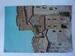 "Cartolina Viaggiata ""S. AGATA FELTRIA Rocca Fregoso - Borgo Medioevale"" 1984 - Italy"