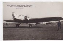 Société Provençale De Constructions Aéronautiques - Avion Multiplace De Combat - Avions