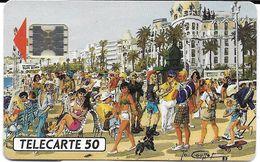 TÉLÉCARTE PHONECARD FRANCE PRIVÉE TELEPUCE PROMENADE DES ANGLAIS  D 340 - France