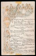 MENU 1893  16.5 X 11 CM - Menus