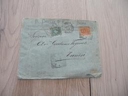 Lettre Italie Italia Pub Cinelli Figli Signa Taxée 1930 - 1900-44 Victor Emmanuel III