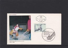 Österreich ANK 1265 Eishockey Weltmeisterschaft  FDC Ersttag 1967 - FDC