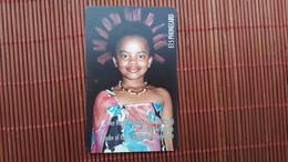 Nice Chip Phonecard Princess Sikhanyiso Used Number SGAD03300176406 Rare - Swaziland