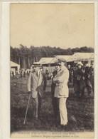 Semaine D'Aviation - Rouen (juin 1910) - Latham Et Bréguet Regardant Bathiat En L'air - Aviatori