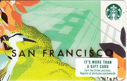 USA - San Francisco, Starbucks Card, CN : 6156, Unused - Gift Cards