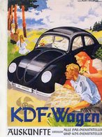 Kdf-Wagen   -  Publicite  - CPR - Passenger Cars