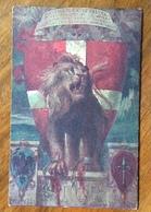 CROCE ROSSA ITALIANA ALESSANDRIA CARTOLINA E TU CROCE DI SAVOIA  CASSINE ALESSANDRIA 30/3/18 - Guerra 1914-18
