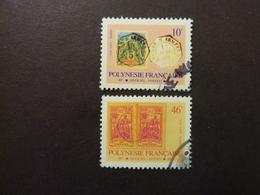 POLYNESIE FRANCAISE, Timbres De Service, Année 1993, YT N° 20 Et 22 Oblitérés - Service