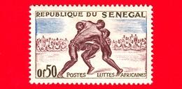 Nuovo - MH - SENEGAL - 1961 - Sport - Arti Marziali - Lotta - Wrestling -  0.50 - Senegal (1960-...)