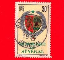SENEGAL - Usato - 1966 - Stemmi Araldici - Coat Of Arms - 30 - Senegal (1960-...)
