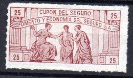 Viñeta Fomento Y Economia Del Seguro - España