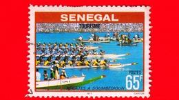 SENEGAL - Usato - 1978 - Turismo - Regata A Soumbedioum - 65 - Senegal (1960-...)