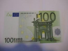 100 Euro-Schein Unc. Trichet, Draghi - EURO