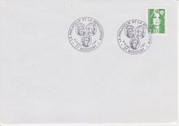 FRANCE Bureau Temporaire Département De L'Eure 27 : 8-9 Déc.1990 ACQUIGNY Révolution Mirabeau Roi Louis XVI Lafayette - Marcophilie (Lettres)