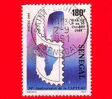 SENEGAL - Usato - 1989 - Dakar - Conferenza Delle Amministrazioni Delle Poste E Telecomunicazioni - 180 - Senegal (1960-...)