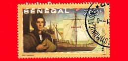 SENEGAL - Usato - 1991 - 500 Anni Della Scoperta Dell' America - Colombo E Pinta - 200 - Senegal (1960-...)