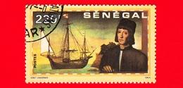 SENEGAL - Usato - 1991 - 500 Anni Della Scoperta Dell' America - Cristoforo Colombo - 220 - Senegal (1960-...)