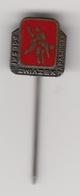 Enamel Pin Badge Poland Wrestling Association Federation Polska - Wrestling