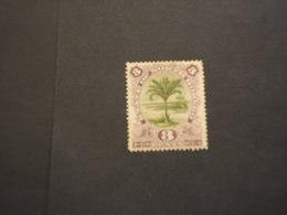 BORNEO DEL NORD - 1893 ALBERO  3 C. - NUOVO(+) - North Borneo (...-1963)