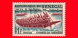 SENEGAL - 1961 - Sport - Canoa - Navi - Corsa Delle Pirogues -  1 - Senegal (1960-...)