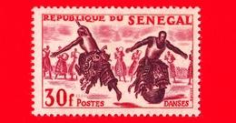 SENEGAL - 1961 - Sport - Danza - Dancing -  30 - Senegal (1960-...)