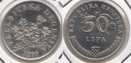 Croazia 50 Lipa 1993 Velebitska Degenija KM#8 - Used - Croazia