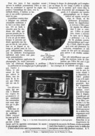 """"""" LE PHONOGRAPHE """"  UNE NOUVELLE METHODE D'ENSEIGNEMENT  Des LANGUES     1914 - Technical"""