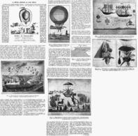 LA FIEVRE AERIENNE Au XVIII E SIECLE   1914 - Transport