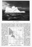 LES GLACES FLOTTANTES Et Les PAQUEBOTS ( Suite Au Naufrage Du TITANIC ) 1914 - Bateaux