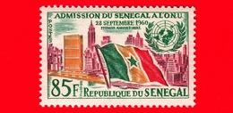 SENEGAL - 1962 - 1 ° Anniversario Dell'ammissione Alle Nazioni Unite (ONU) - Bandiere - 85 - Senegal (1960-...)