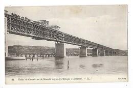 MIRAMAS   (cpa 13)  Viaduc De Caronte Sur La Nouvelle Ligne De L'Estaque à Miramas   -  L 1 - France