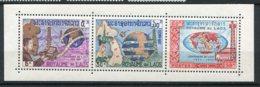 10453 LAOS N° 114/6 ** Centenaire De L' U.I.T  (intérieur Du BF 33)   1965  TB/TTB - Laos