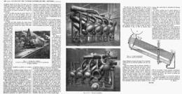 """UTILISATION Des VAPEURS NATURELLES  Des """" SOFFIONI De TOSCANE """" ( ITALIE )  1914 - Italy"""