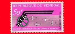 SENEGAL - 1963 - Inaugurazione Dell'aereo DC8 Air Afrique - 50 - P. Aerea - Senegal (1960-...)