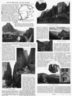 """DANS LES BASSES ALPES """" LES CLUES De BARLES """"  1914 - Alpes - Pays-de-Savoie"""