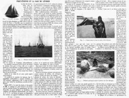 PORT-ETIENNE Et La BAIE Du LEVRIER  ( MAURITANIE )  1914 - Mauritania