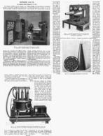 "TELEPHONE SANS FIL "" Le Systeme COLIN-JEANCE     1914 - Technical"