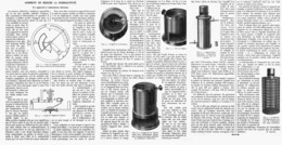 """COMMENT ON MESURE La RADIOACTIVITE  """" Un Appareil à Indications Directes """"     1914 - Technical"""