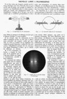 NOUVELLE LAMPE à INCANDESCENCE Du DR GREINACKER   1914 - Technical
